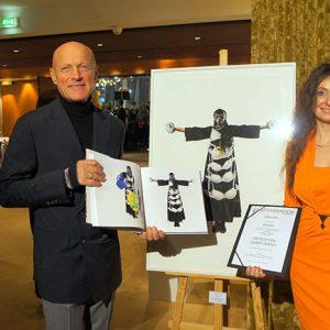 "2017 - Winning work ""Cruzifixion"" in the Artedition 2018, Innsbruck, Austria"
